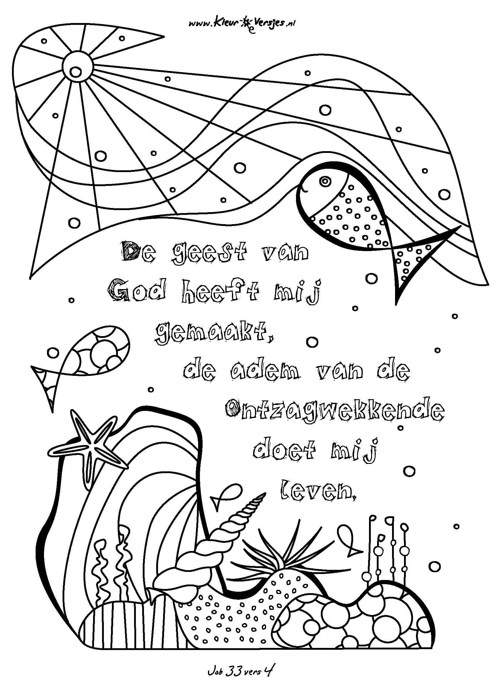 Kleurplaat Met Bijbeltekst Kleurversjes Nl De Leukste Christelijke Kleurplaten