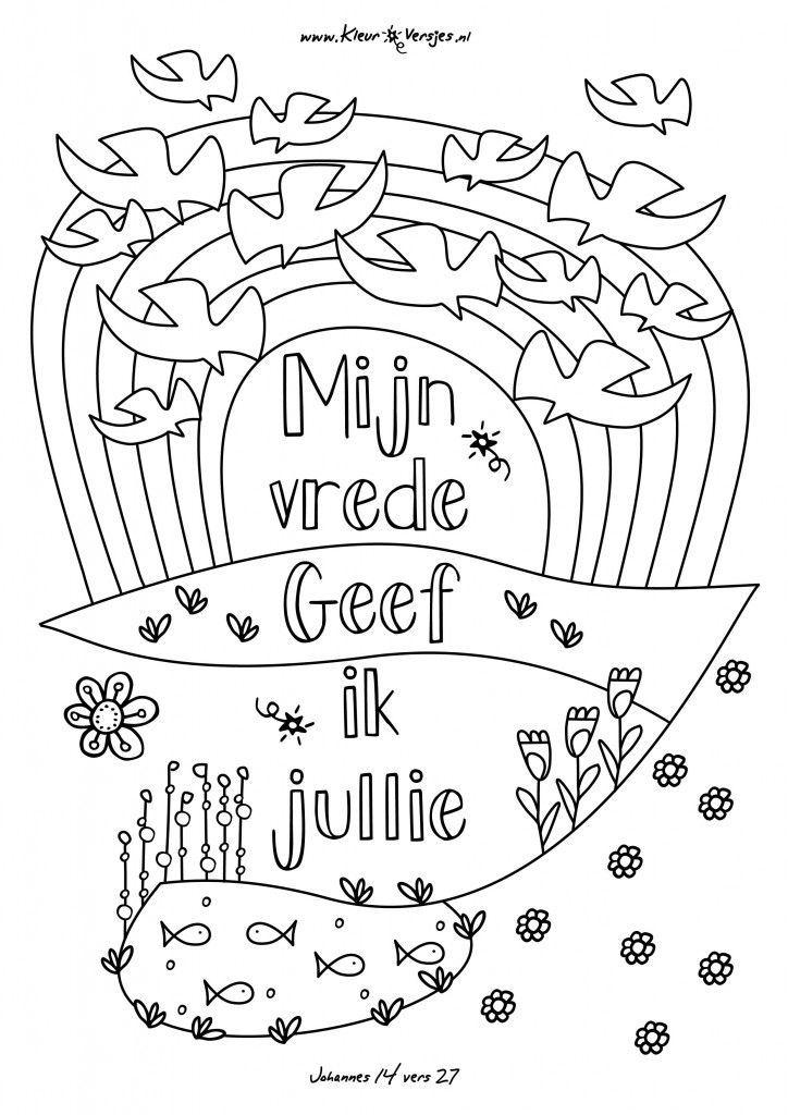 013 mijn vrede geef ik jullie kleurversjes nl
