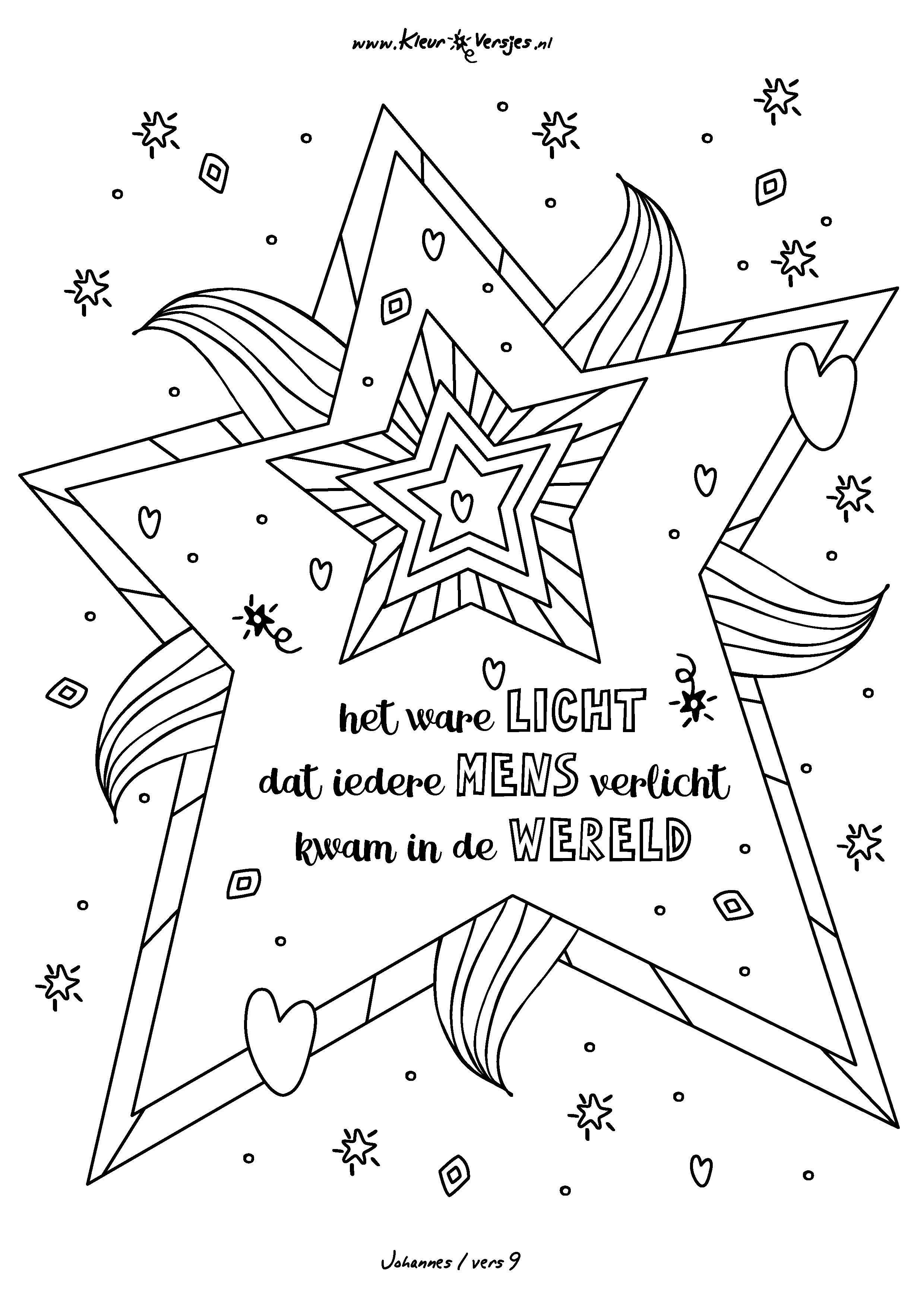 18 Jaar Getrouwd Kleurplaat 028 Het Ware Licht Dat Ieder Mens Verlicht