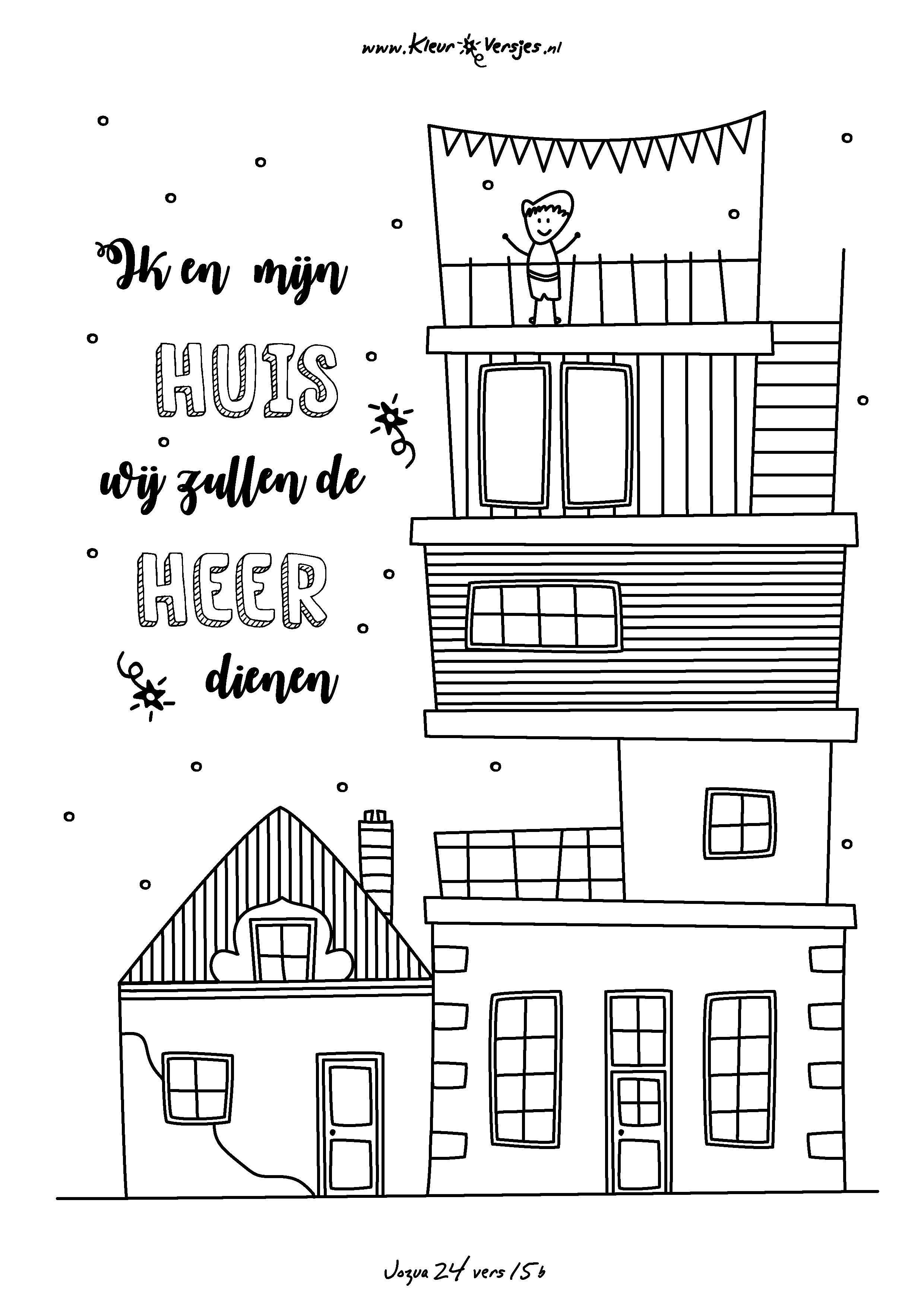 Kleurplaten Nieuw Huis.Inspirerend Kleurplaten Van Een Nieuw Huis Klupaats Website
